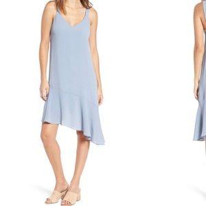 Lush dress in a soft blue
